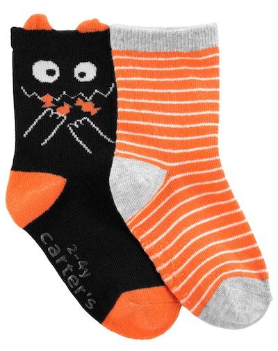 Toddler Halloween Socks 2pk