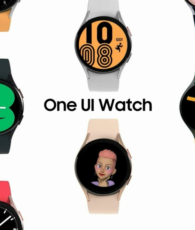 Promotional image of Samsung's One UI Watch interface