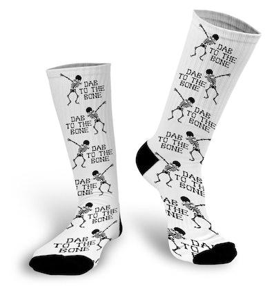 Halloween Socks — Dab, Bone, Skeleton