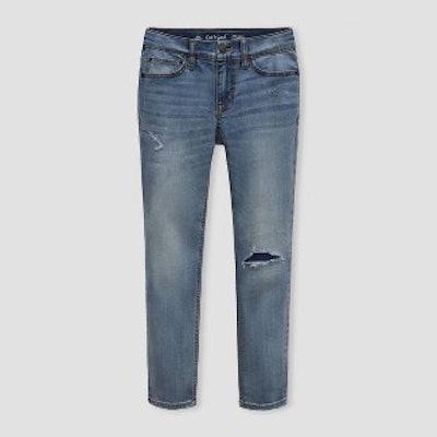 Boys' Super Stretch Distressed Jeans