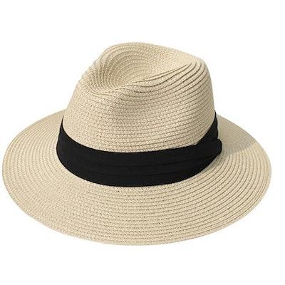 Lanzom Beach Sun Hat