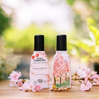 Squatty Potty Pootanicals Toilet Spray in Cherry Blossom
