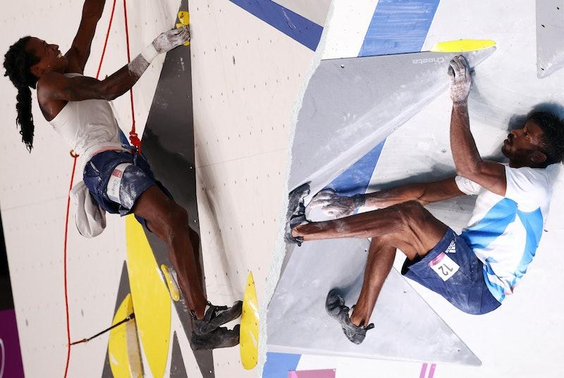 Olympic climbers Mickael Mawem ad Bassa Mawem