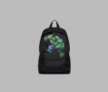 Balenciaga Winter 2021 Marvel Hulk backpack