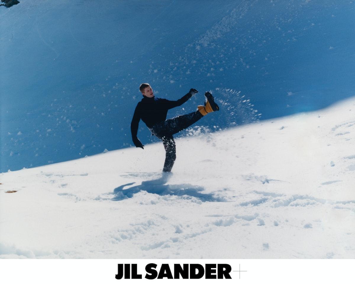 Jil Sander Fall/Winter 2021 campaign.
