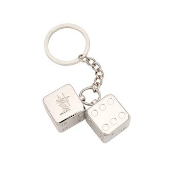 Metal Dice Keychain