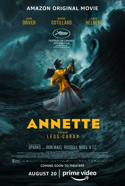 The official Amazon Studios poster for 'Annette'