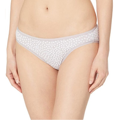 Amazon Essentials Cotton Stretch Bikini Panty (6-Pack)