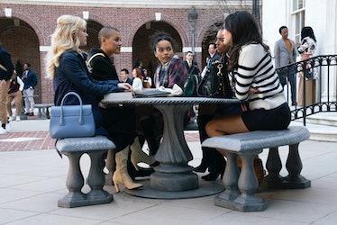 Emily Alyn Lind, Jordan Alexander, Whitney Peak, Savannah Lee Smith, Zion Moreno in Gossip Girl