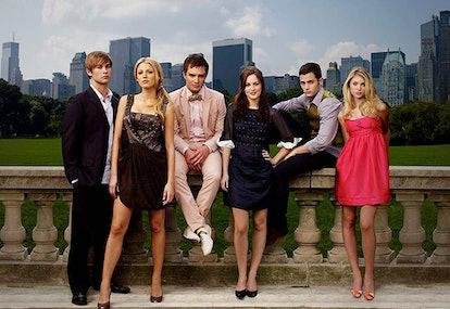 The original cast of the original 'Gossip Girl' Season 1 from 2007