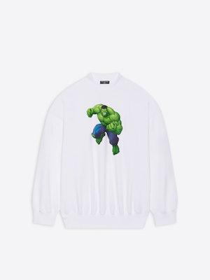 Balenciaga Winter 2021 Marvel Hulk collection