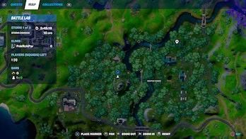 fortnite week 9 alien artifact location 3 map