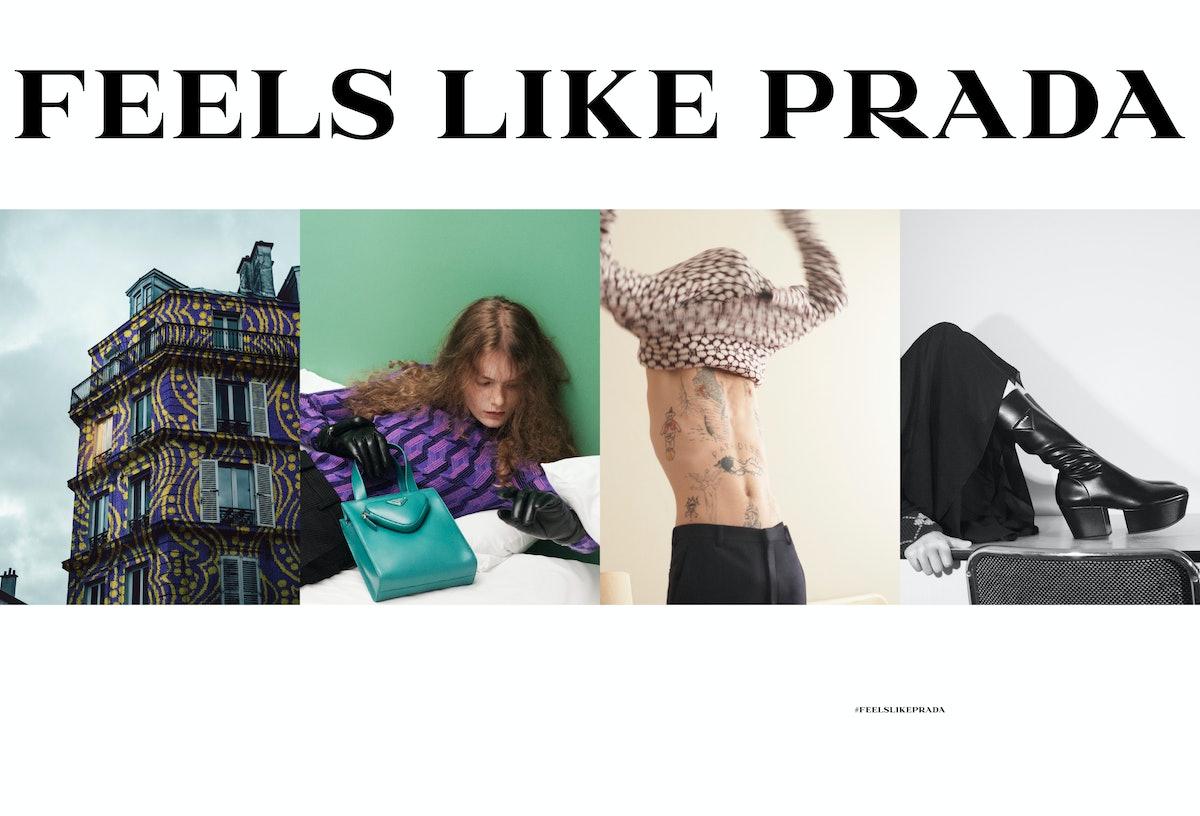 Prada Fall/Winter 2021 campaign.