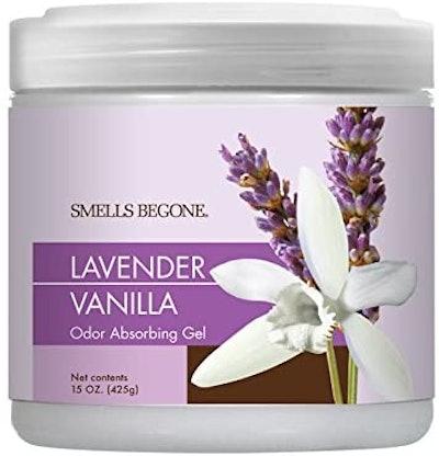 Smells Begone Air Freshener Odor Absorber Gel