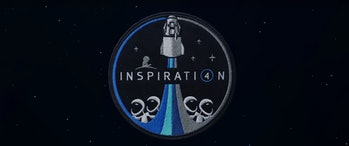 SpaceX Inspiration4 crew patch screenshot