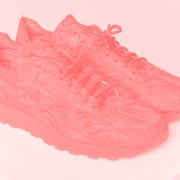 This wild Reebok shoe is made from recycled airbags and limited to 25 pairs