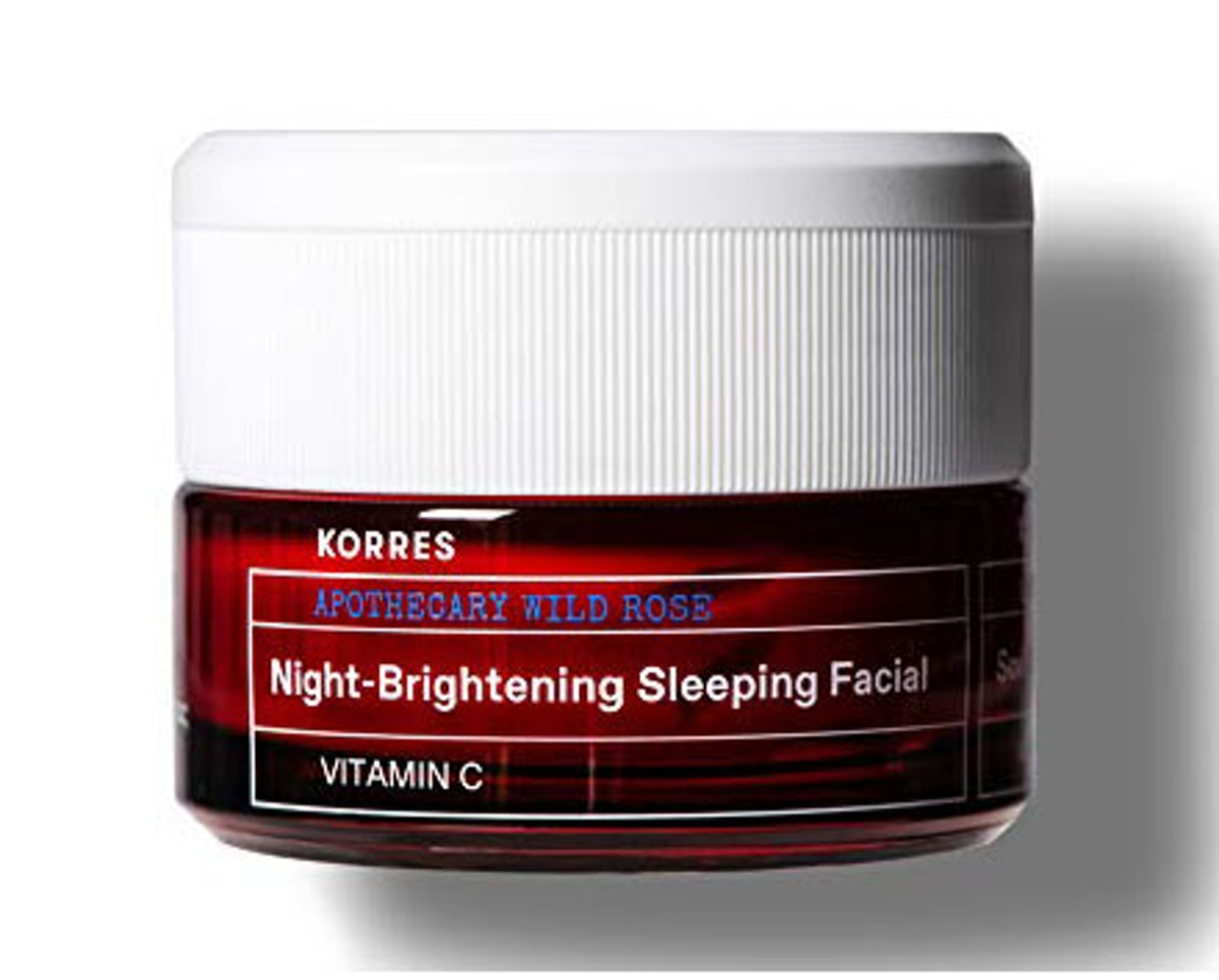 Korres Apothecary Wild Rose Night-Brightening Sleeping Facial