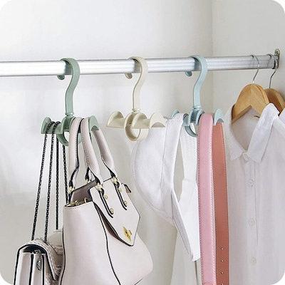 LIONWEI LIONWELI Rotating Handbag Hangers (4-Pack)