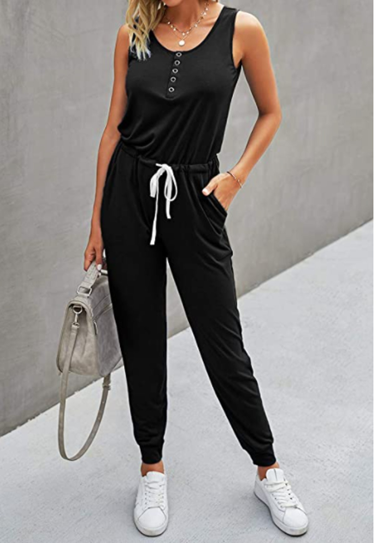 PRETTYGARDEN Casual Stretchy Jumpsuit