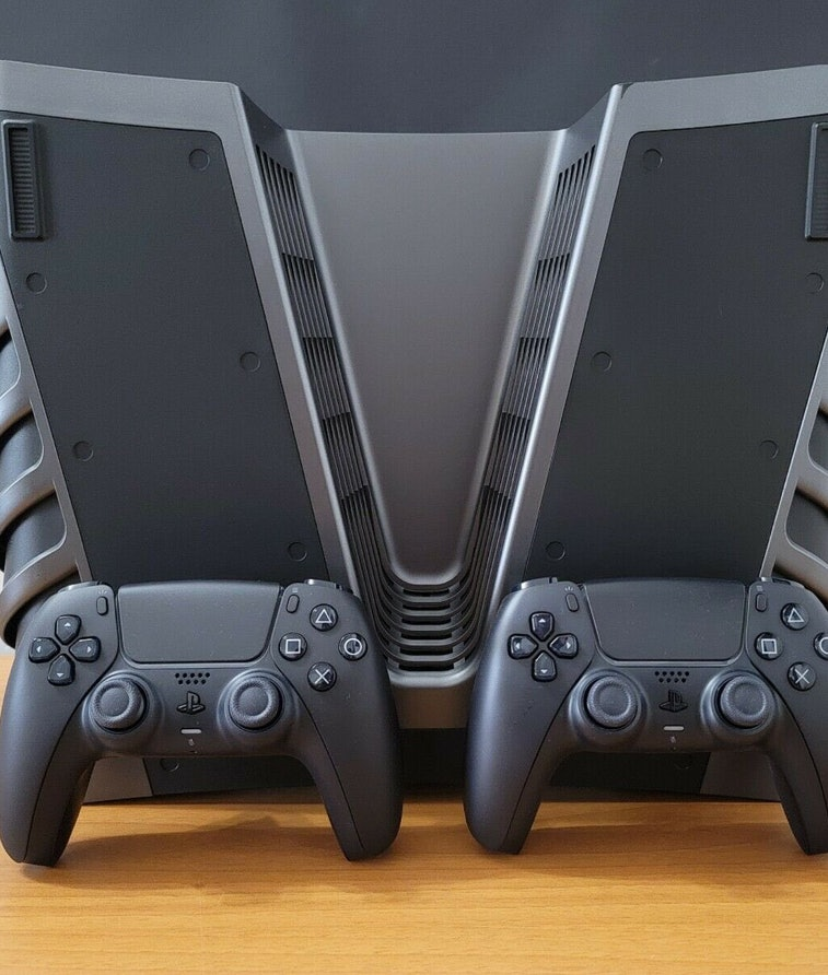 PS5 Dev v-shaped dev kit for game developers