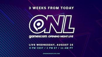 gamescom opening night live logo