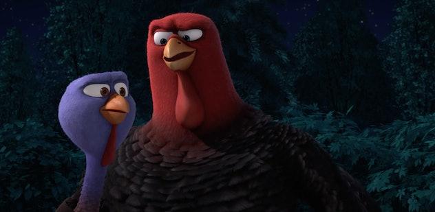 Woody Harrelson stars in 'Free Birds.'