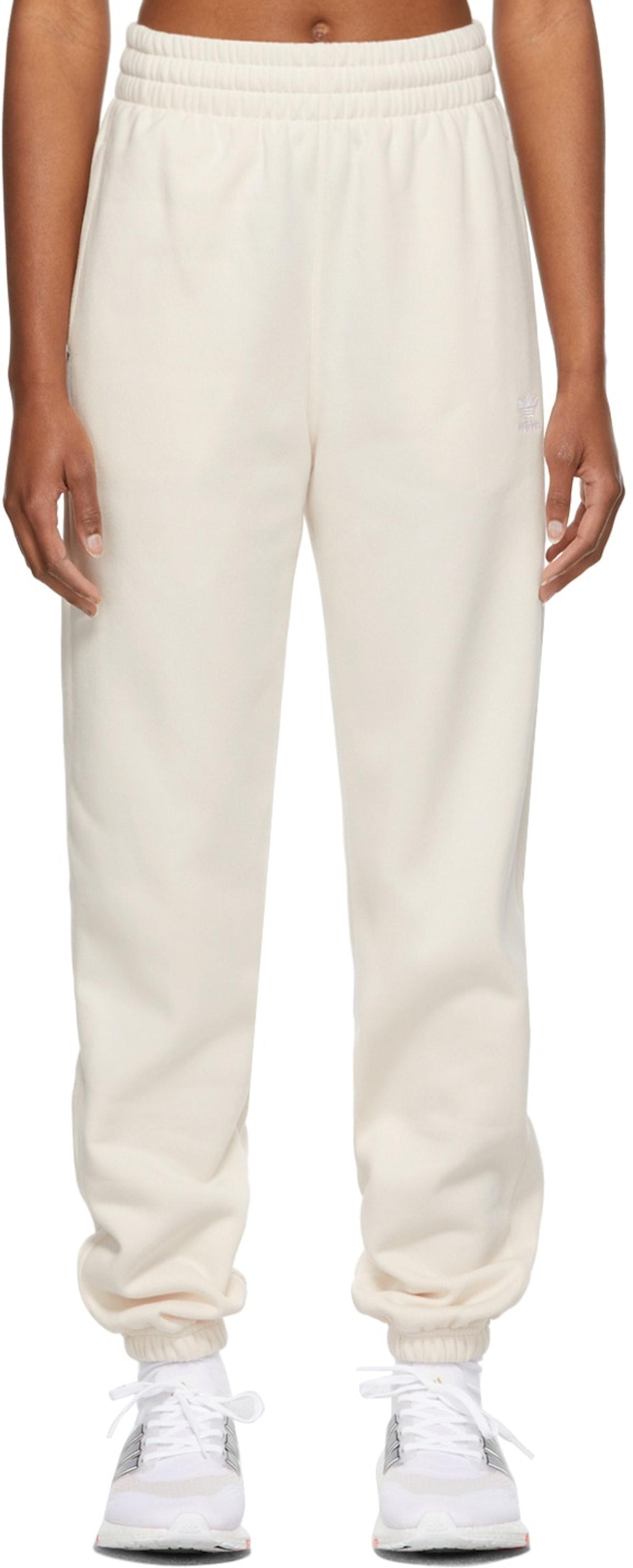 Off-White Fleece Adicolor Essentials Lounge Pants from adidas Originals.