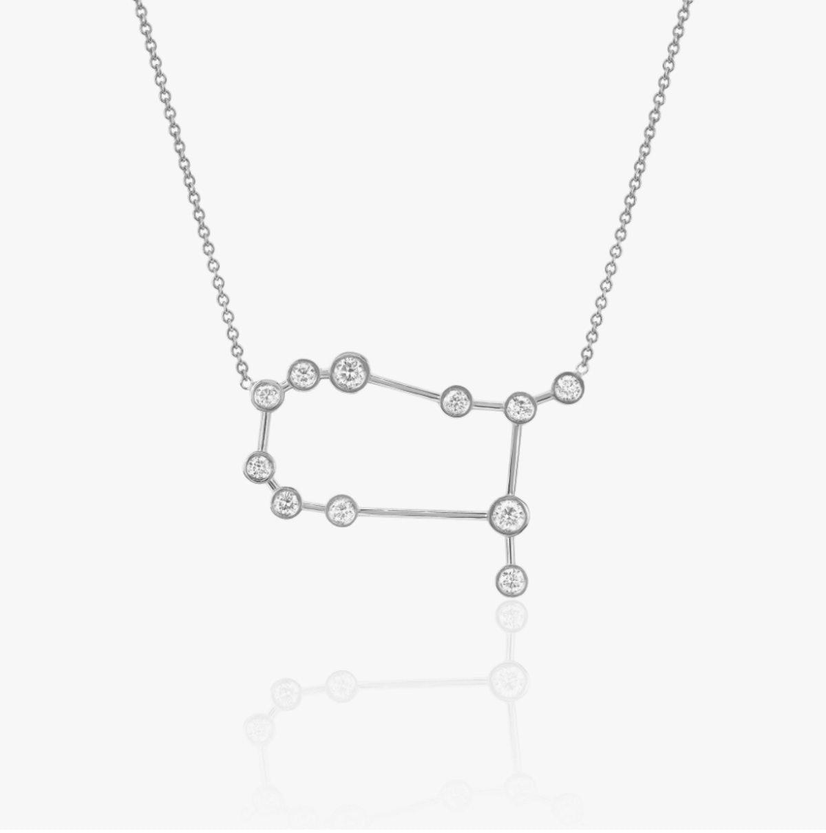 Logan Hollowell's Gemini Zodiac Necklace.
