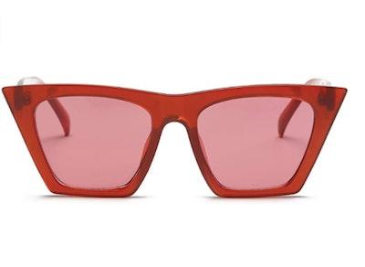 FEISEDY Cat Eye Sunglasses
