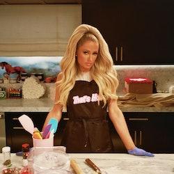 Paris Hilton on Cooking with Paris