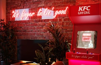 KFC is opening a fried chicken-themed pop-up hotel in London.