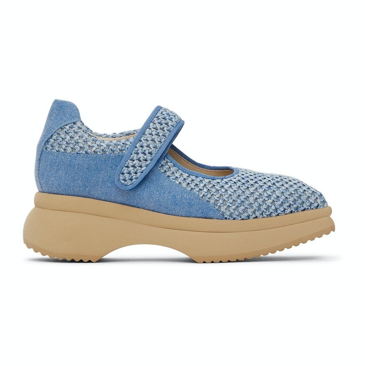 Paula Canovas Del Vas Blue Diablo Sneakers