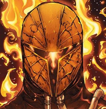 Mandalorian Season 3 Darksaber Mask of Mandalore