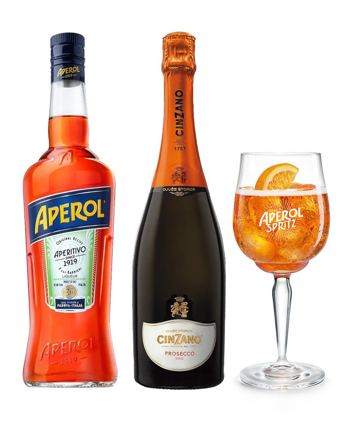 Aperol Spritz Kit With Signature Glass