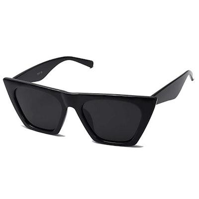 SOJOS Cateye Polarized Sunglasses