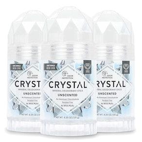 Crystal Deodorant Stick, 4.25 oz. (3-Pack)