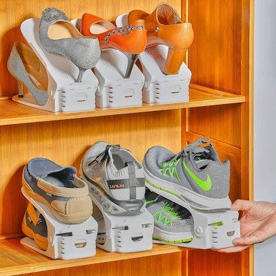 Yashong Shoe Slots Organizer (10 Pieces)