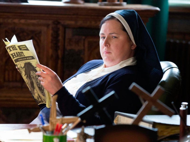 Siobhan McSweeney As Sister Michael in 'Derry Girls'