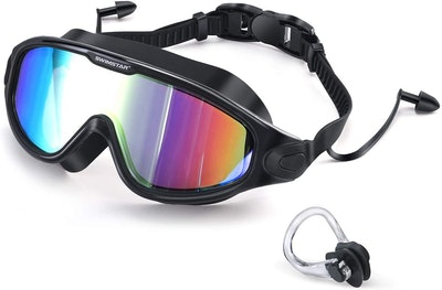 SwimStar Swim Goggles With Ear Plugs
