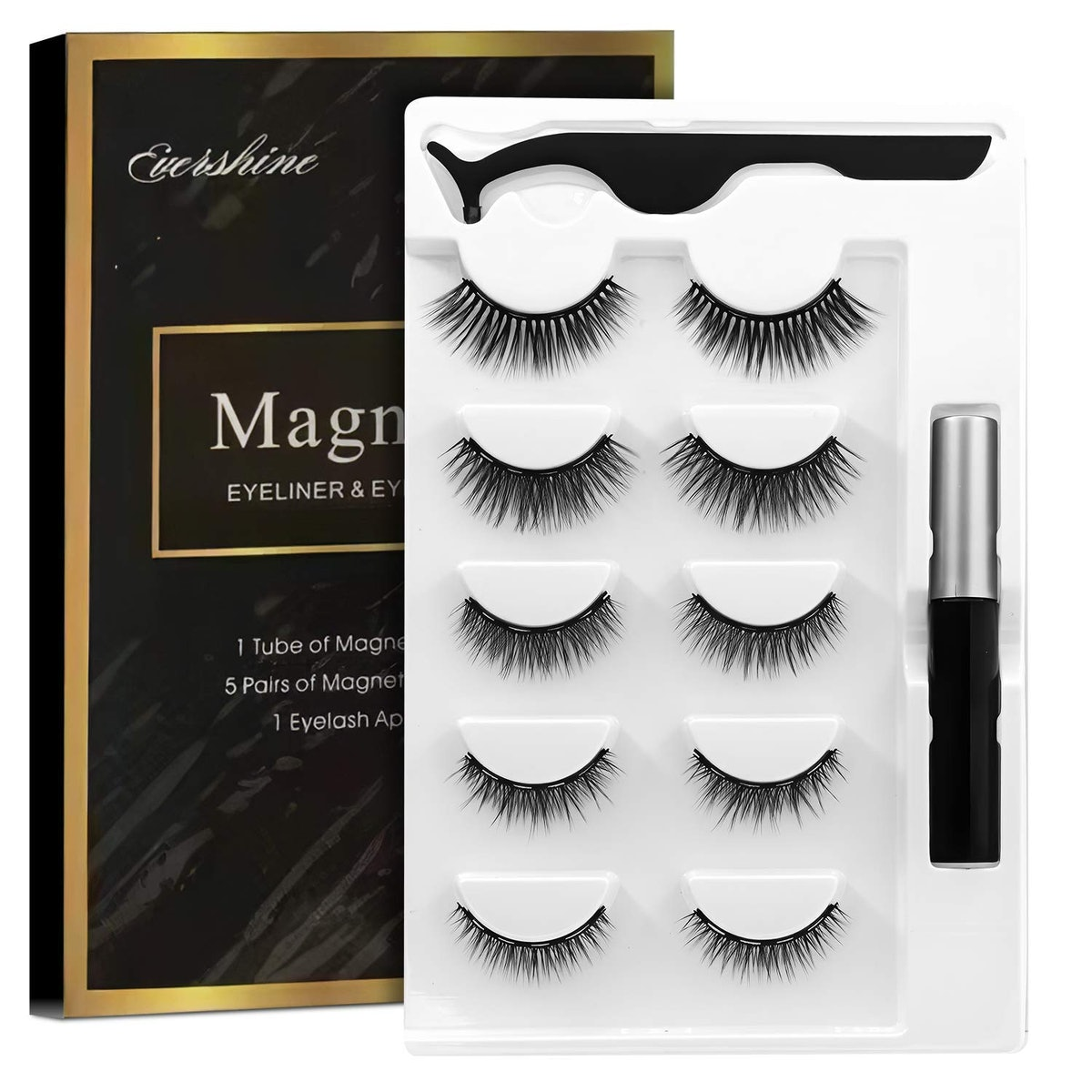 Reazeal Magnetic Eyelashes (5-Pack)