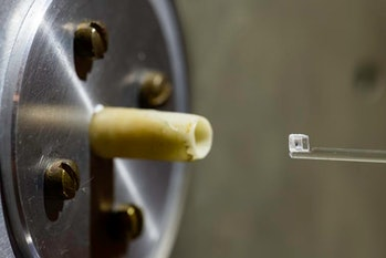 By using a new technique, researchers were able to isolate and test tiny samples — like the piece se...