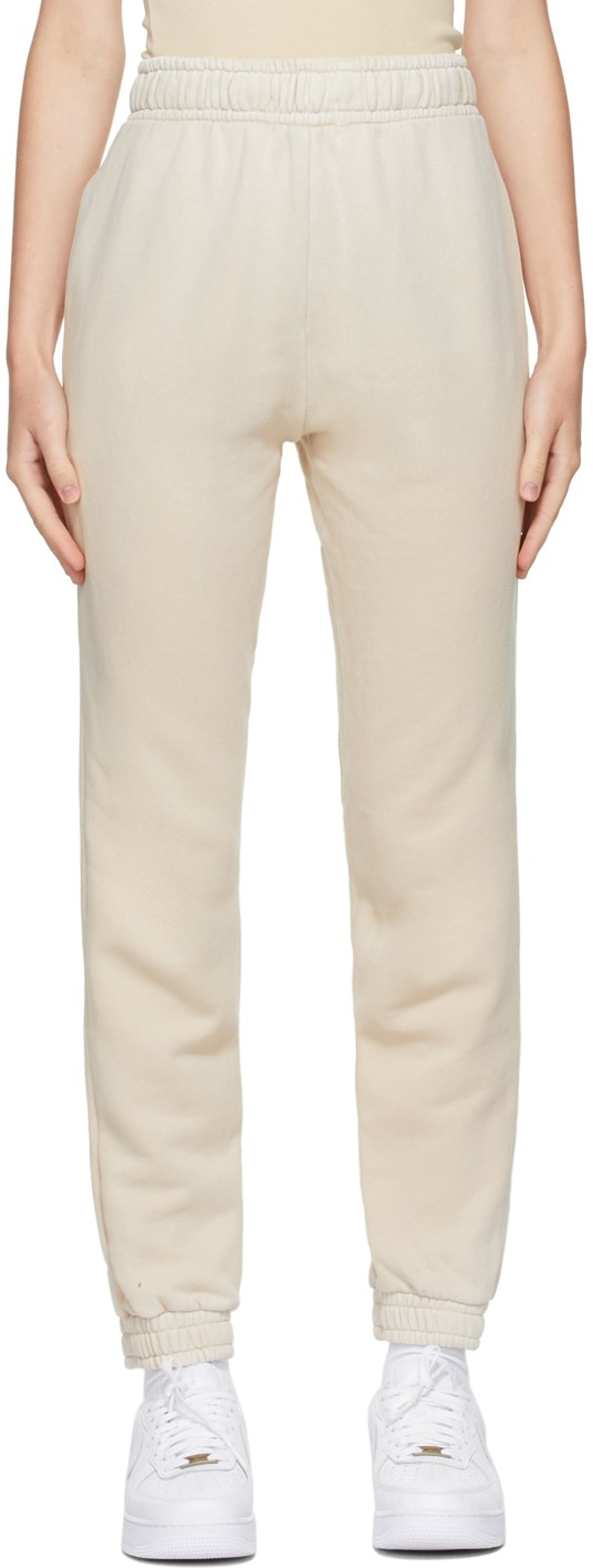 Beige Brooklyn Lounge Pants from COTTON CITIZEN, available to shop on SSENSE.