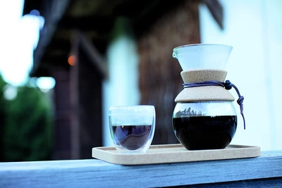 Bodum Pour Over Coffee Maker with Permanent Filter