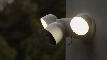 The Nest Cam with Floodlight.