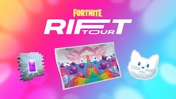 fortnite rift tour challenge rewards