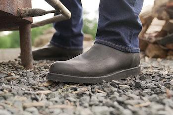 Tecovas x Made In Carbon Steel Knox cowboy boot