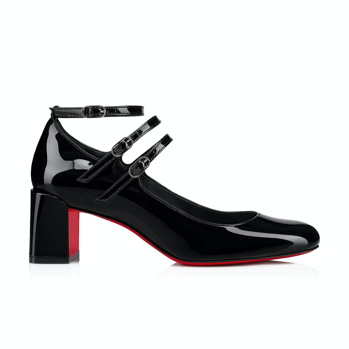Christian Louboutin Vernica Patent Leather Mary Jane Pumps