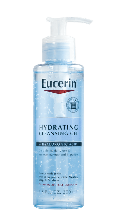 Eucerin Hydrating Face Cleansing Gel with Hyaluronic Acid