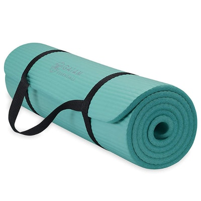 Gaiam Essentials Yoga Mat With Carrying Strap