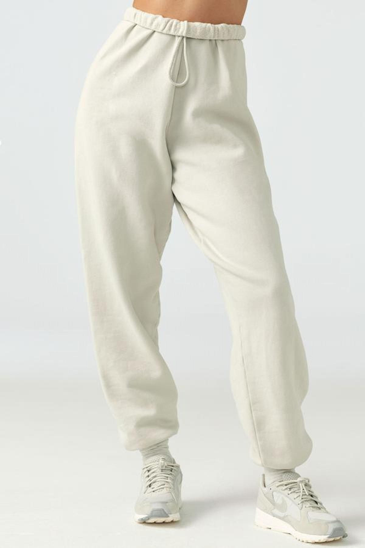 Oversized Jogger in Sahara French Terry from Joah Brown.